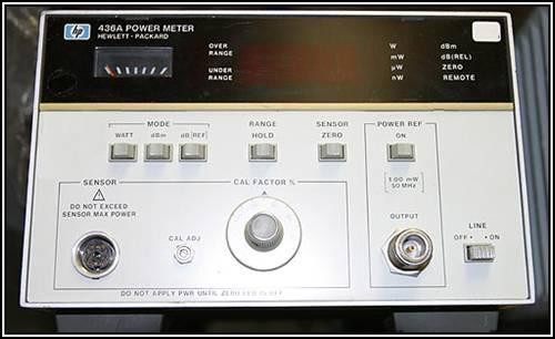 allen communications hp 436a power meter rh alncom com hp 436a power meter operating manual 8482A Power Meter